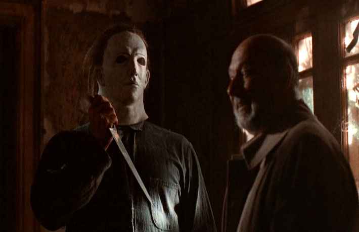 Halloween 5 michael myers unmasked