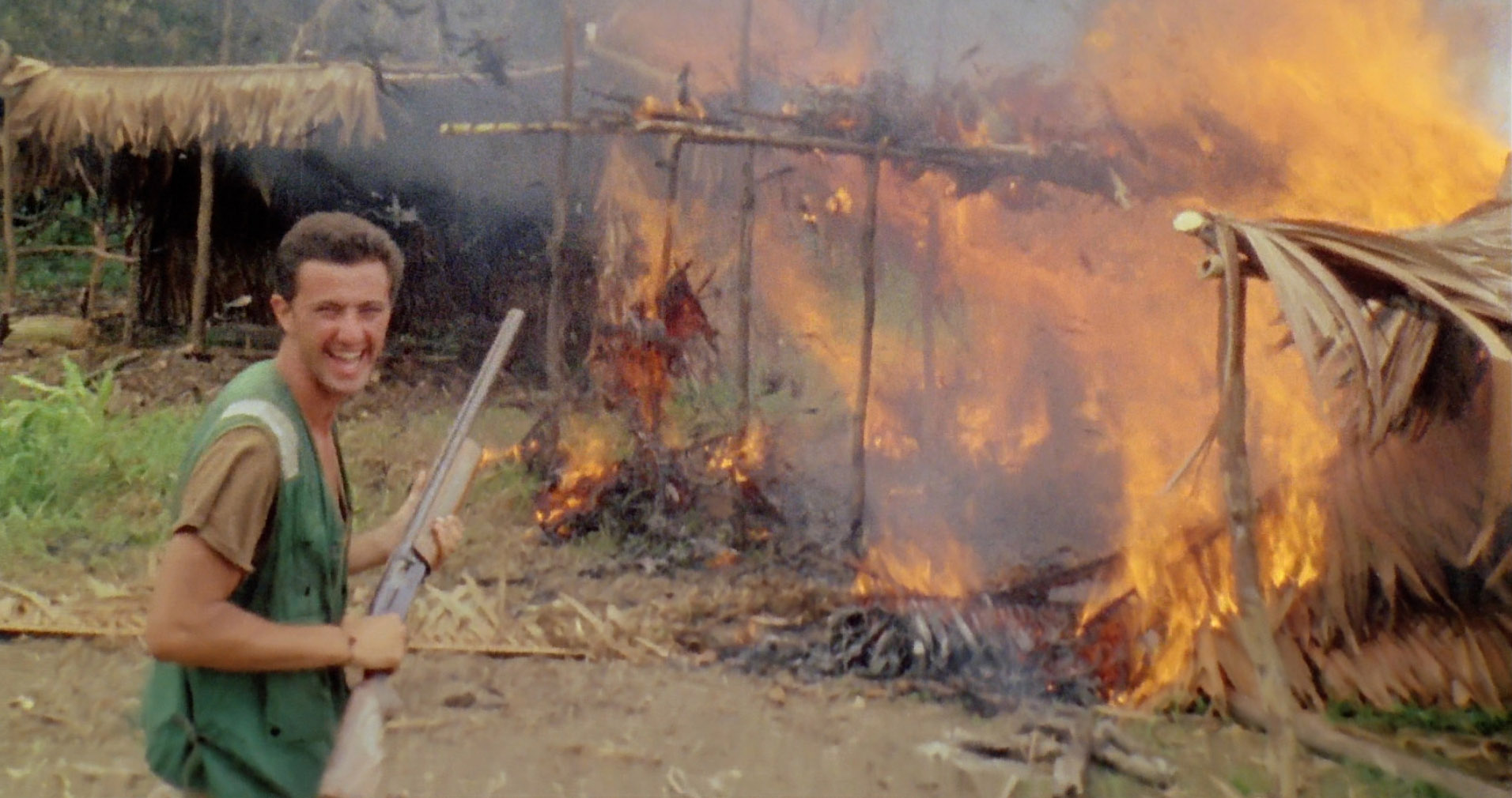Cannibal holocaust rape scene video