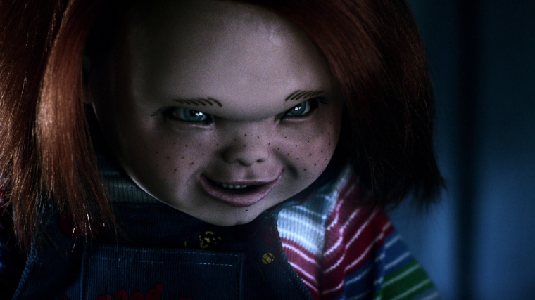 The doll looks a bit odd at times, but Chucky's never really looked the same in every film anyway