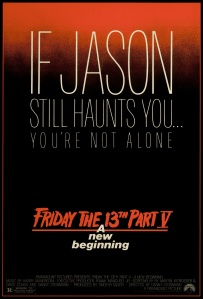 Friday The 13th Part V - Poster