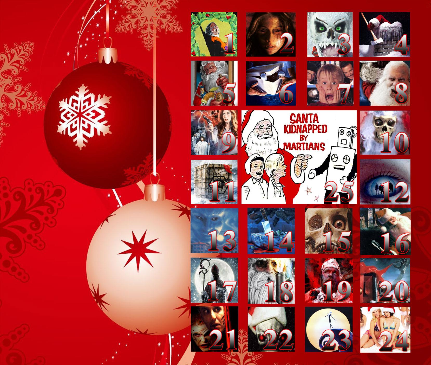 christmas horror movies advent calendar - Best Christmas Horror Movies