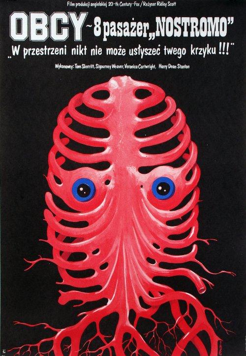 Alien Polish Poster