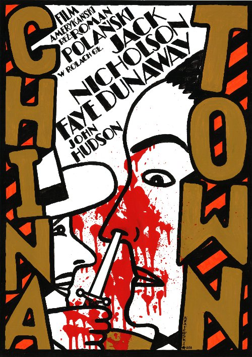Chinatown Polish Poster