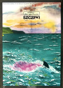This is the Polish poster for Jaws. Trust me, it's nowhere near as crazy as the other ones in this article.