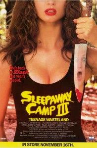 Sleepaway Camp III poster