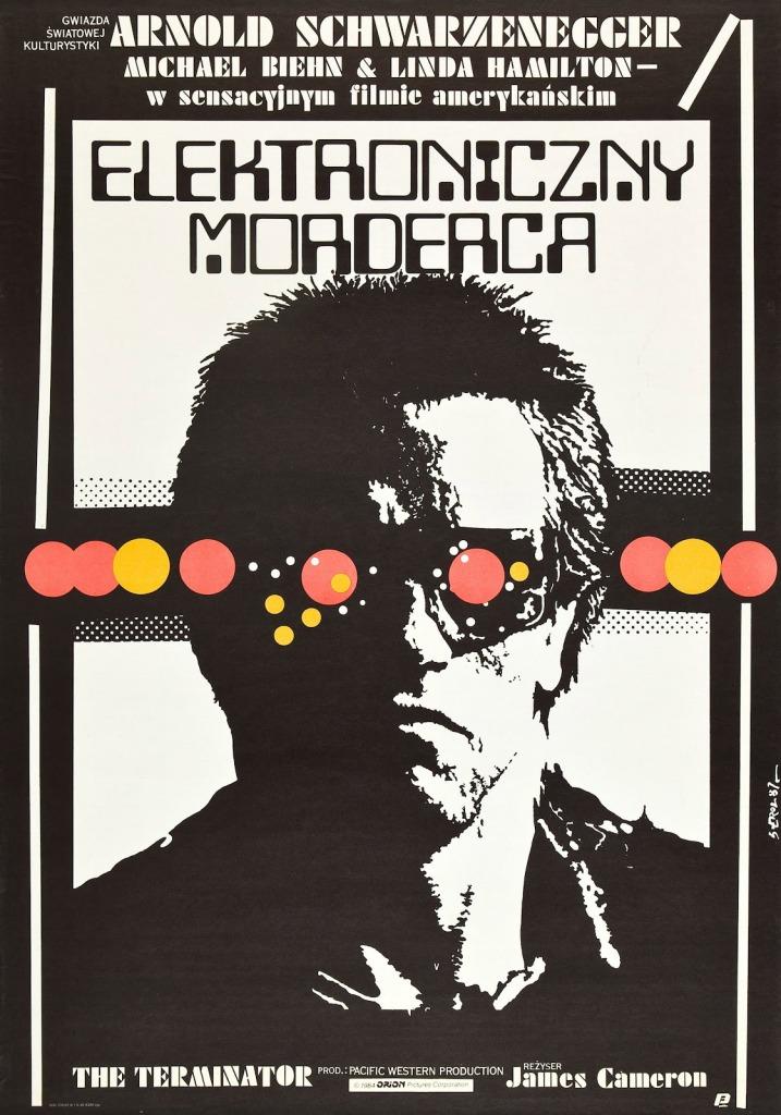 The Terminator Polish poster
