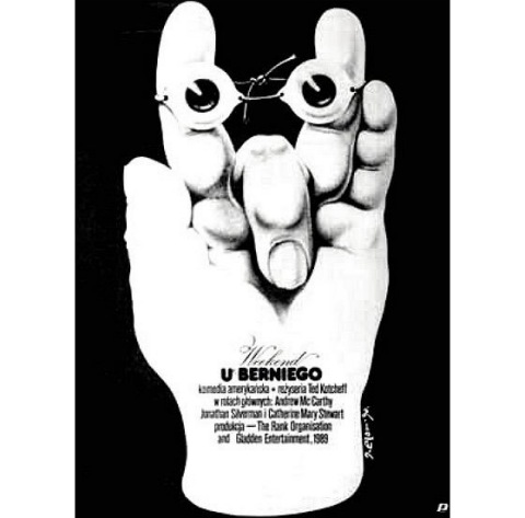 Weekend At Bernies Polish poster