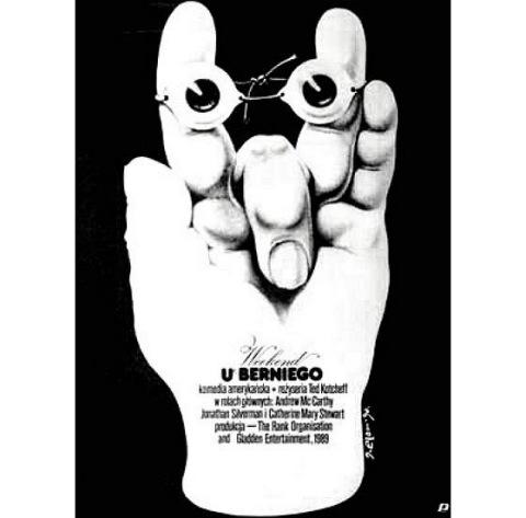 Weekend At Bernies Polish poster