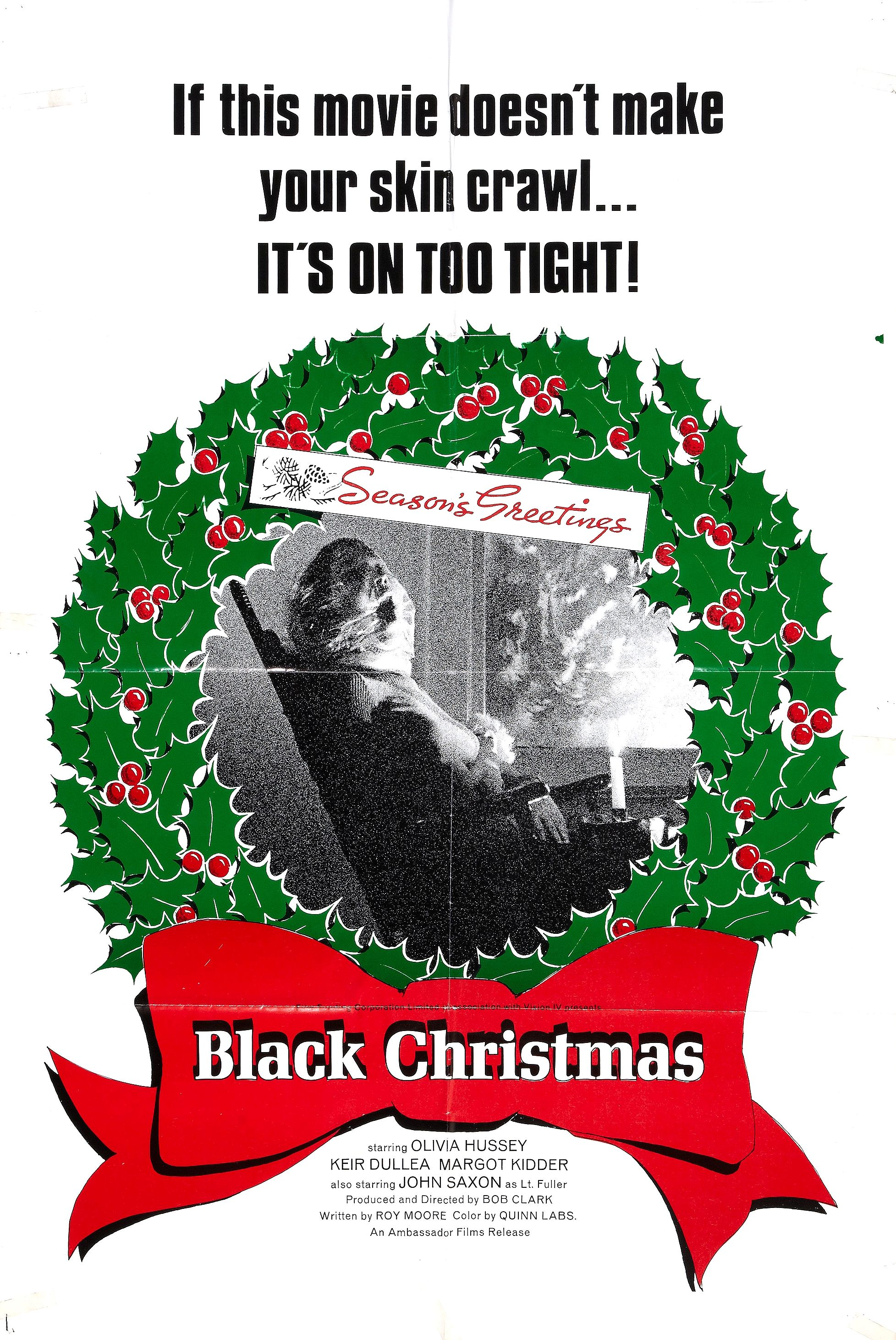 black christmas poster - Black Christmas Movie