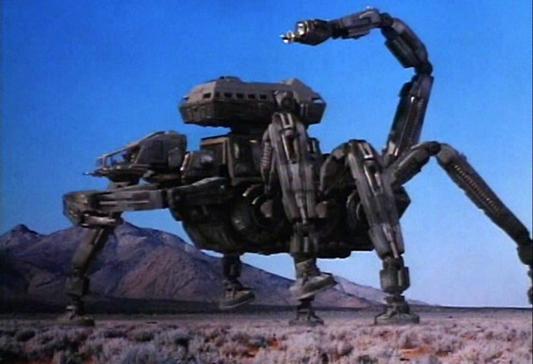 """Fuck, I just remembered, this ISN'T the beach that doesn't have the big robot scorpion in it. Let's go there instead"""