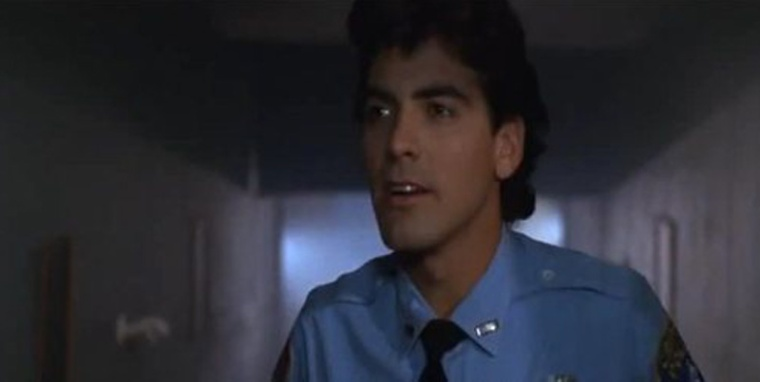George Clooney in Return To Horror High