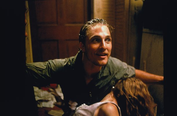 Matthew McConaughey in Texas Chainsaw Massacre