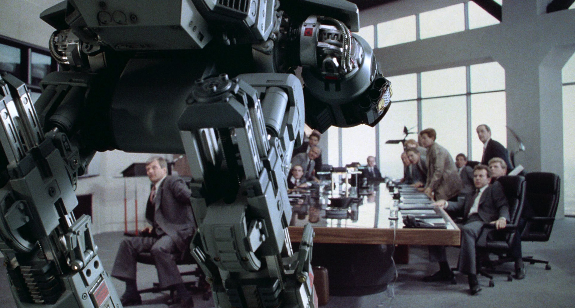 Image result for robocop boardroom""