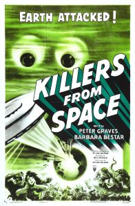 Killers From Space poster