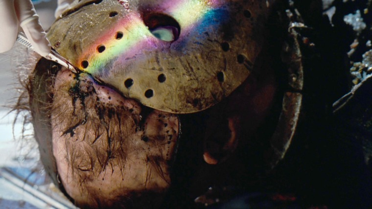 And, naturally, it wouldn't be a Friday The 13th film if Jason didn't lose his mask at some point