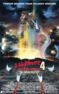 A Nightmare On Elm Street 4 poster