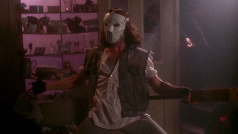 In case you were wondering, Casey Jones doesn't do subtlety