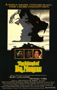 The Island Of Dr Moreau poster