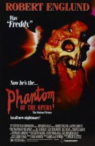 The Phantom Of The Opera 1989 poster