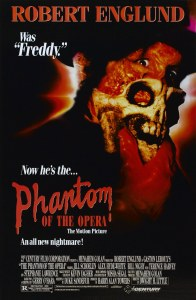 The Phantom Of The Opera 1989 poster