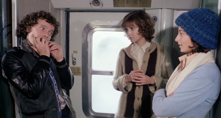"""Do you know how we can get off this train without being raped and murdered?"" ""No, but you hum it and I'll figure out the melody"""