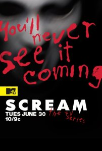 Scream The TV Series poster