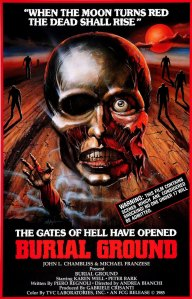 Burial Ground poster