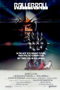 Rollerball 1975 poster