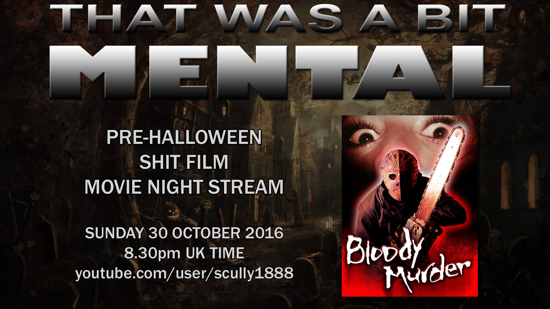 TWABM movie night 1 – Bloody Murder