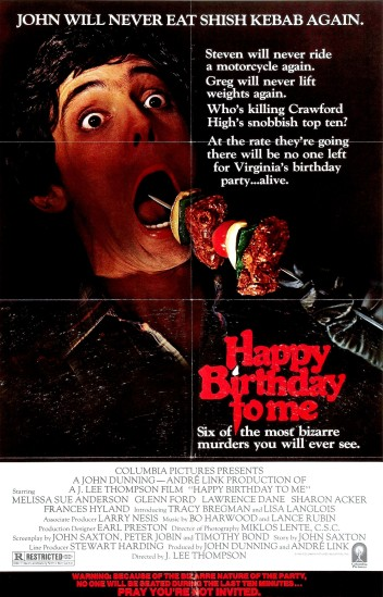 Image result for happy birthday to me 1981
